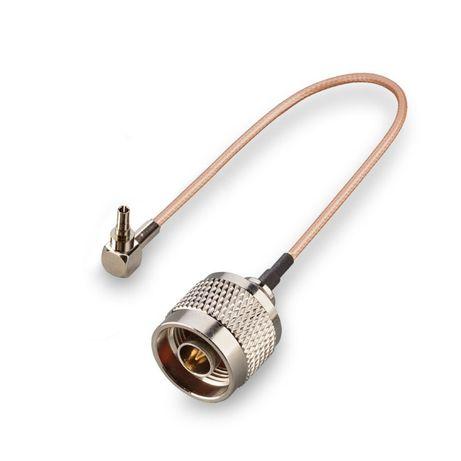 Антенный переходник (pigtail) CRC9 - N-male (кабель RG316)