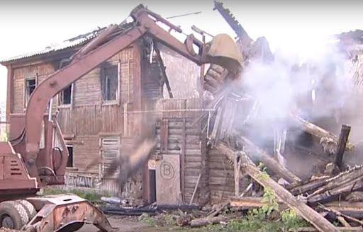 Демонтажные работы Демонтаж дома