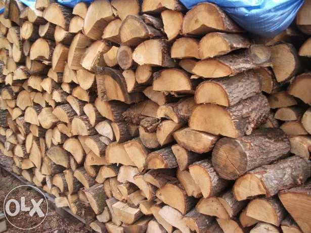 Gotowe do palenia drewno kominkowe - BUK DĄB GRAB JESION