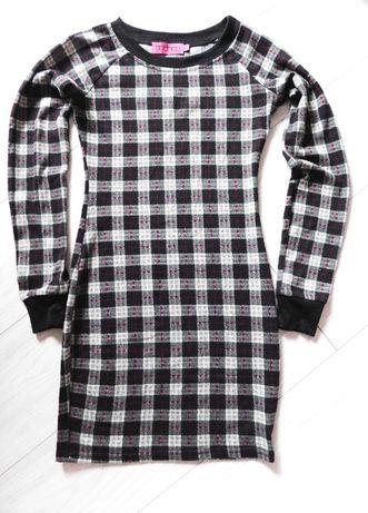Sukienka dopasowana długi rękaw BooHoo r. S/36