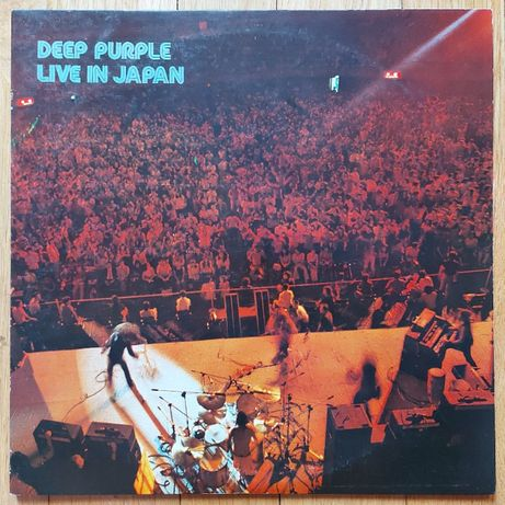 Deep Purple, Live In Japan, Japan, Dec 1972, Ideał- (M-)