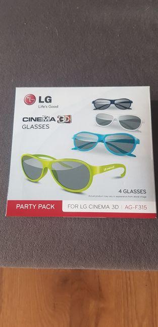 Okulary LG 3D