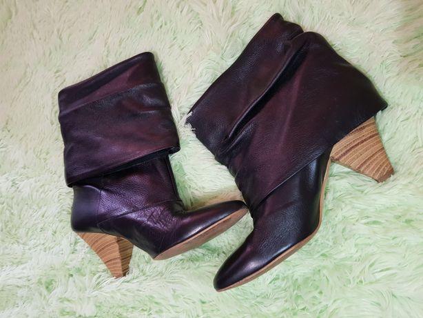 Ботинки Zara,кожа
