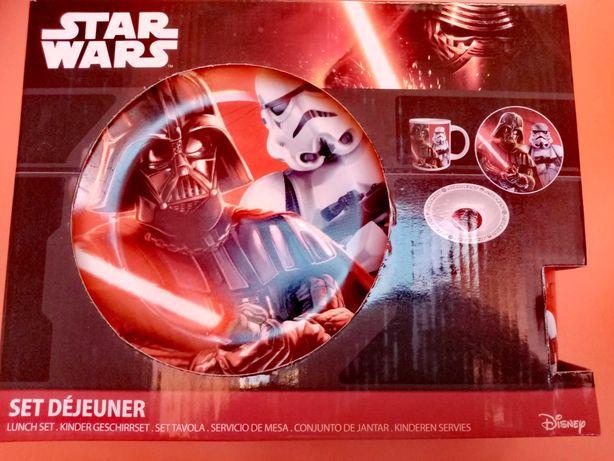 Star Wars zestaw śniadaniowy