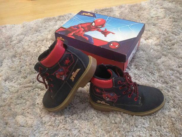 Buty dla chłopca Spiderman
