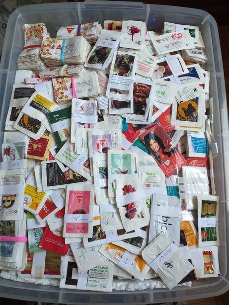 100  series de pacotes de açúcar  todas diferentes anos 2010/11/12