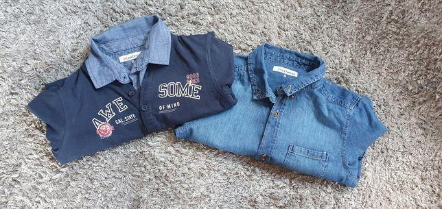 Koszula jeansowa 128
