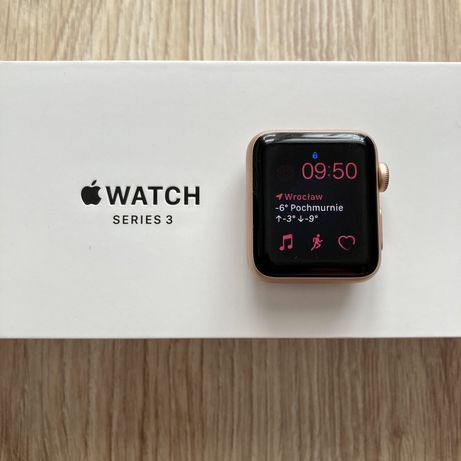 Apple Watch 3 Rose Gold 38 mm