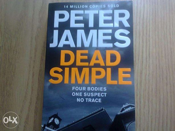 Livro Peter James Dead Simple em Inglês