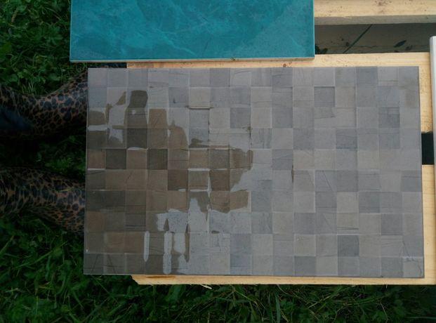 Плитка мозаїка. Світла і коричнева.