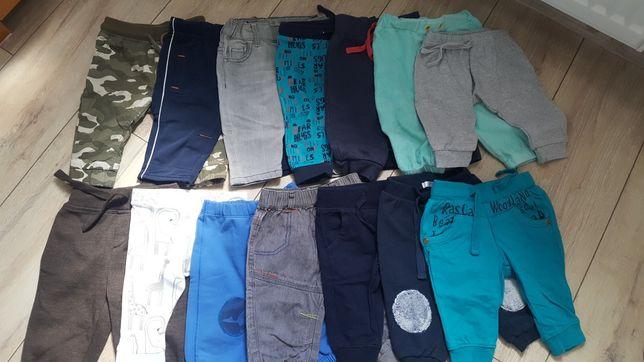 Spodnie chłopięce 62-68   14szt