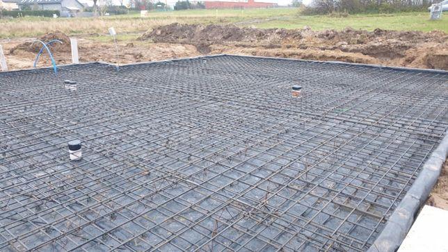 Płyta fundamentowa fundament pod domek letniskowy 35m2 na zgłoszenie