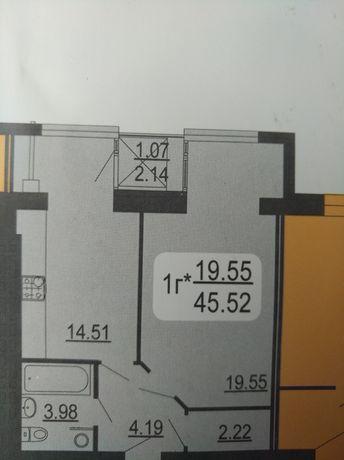 1-к.Семейный Комфорт.2-балкона