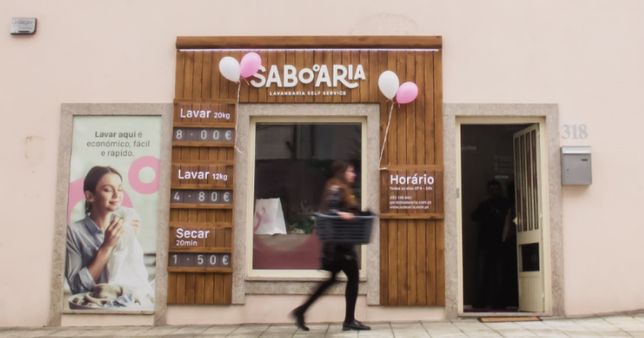 Trespasse Lavandaria Self-Service com Engomadoria