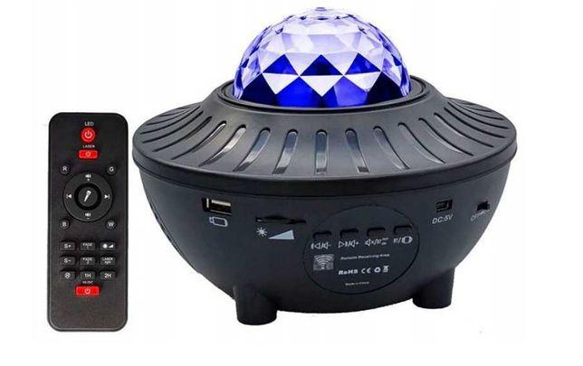 Projektor Gwiazd Star LED star projector, głośnik bt