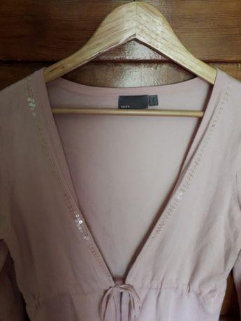 Sweter MEXX bladoróżowy elegancki 42