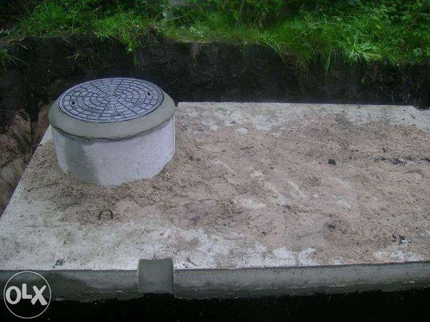 Szambo,szamba betonowe,zbiorniki na szambo