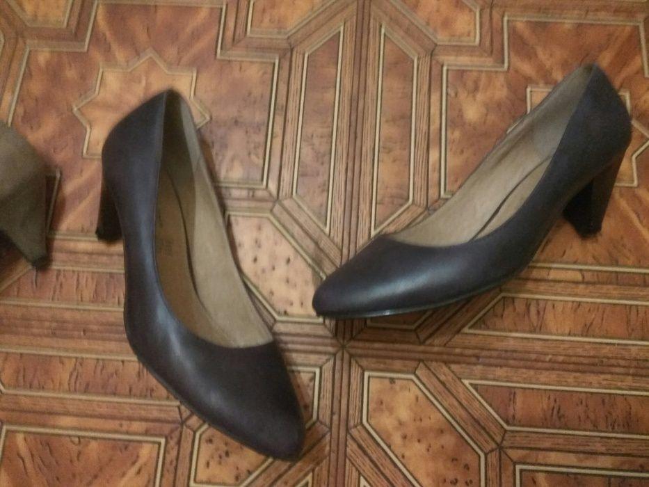 Туфли женские кожаные 37р., 23,5 по стельке Одесса - изображение 1