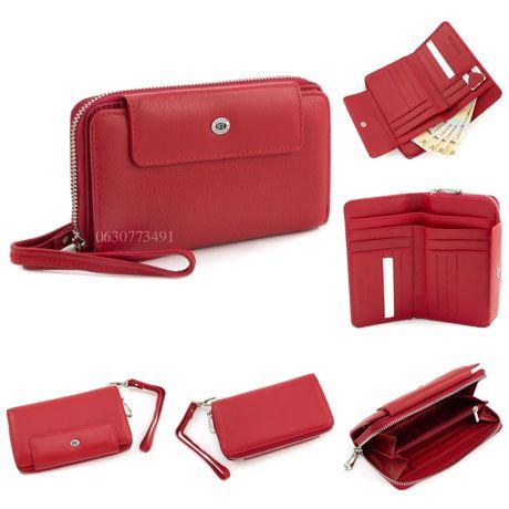Кожаный кошелек гаманець клатч портмоне ST Leather