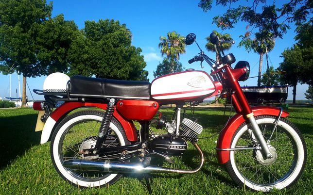 Motorizada Casal vilar 1980 restaurada 5 velocidades