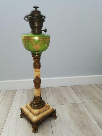 Okazja, Antyk Lampa naftowa kolumnowa, sygnowana