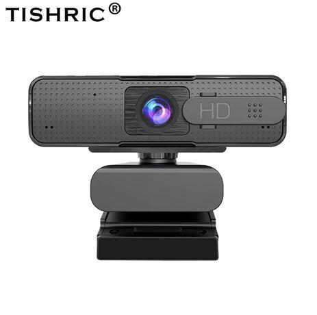 Веб-камера Ashu H701 1080p с автофокусом и микрофоном