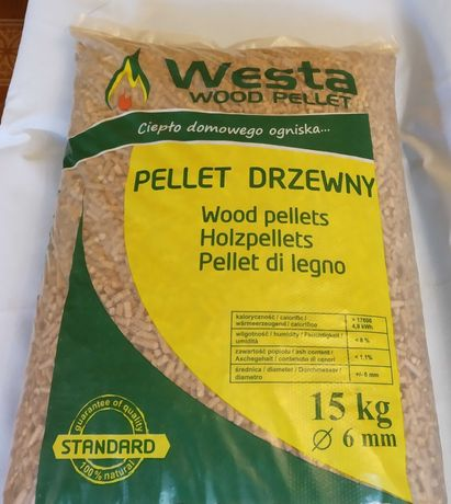 WESTA STANDARD pellet drzewny 6mm, szybka realizacja dostaw, producent
