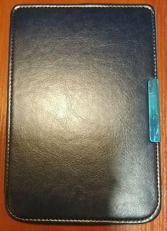 Чехол для PocketBook 614/615/624/625/626 Синий Cover Pack кожа