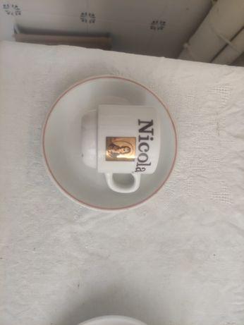 Lote de chávenas de café para coleção