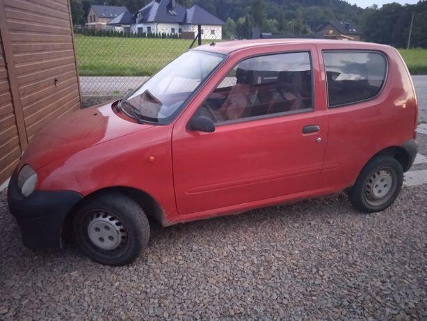 Fiat Seicento 2001, poj. 1100