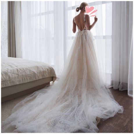 Свадебное платье (есть фата) Chrystal Design Couture (в стиле Berta)
