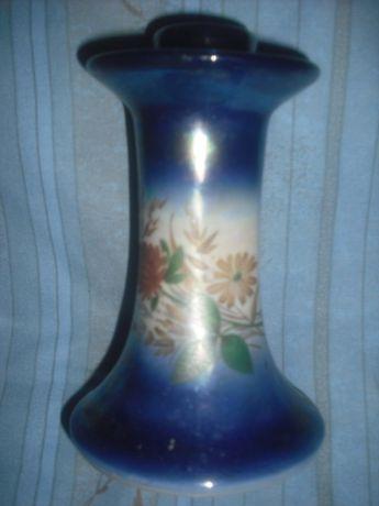 Świecznik porcelanowy, może być do oranżerii lub ogrodu.