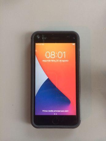 Iphone 7 Plus 32Gb Encarnado, Recondicionado, bateria nova, sem riscos