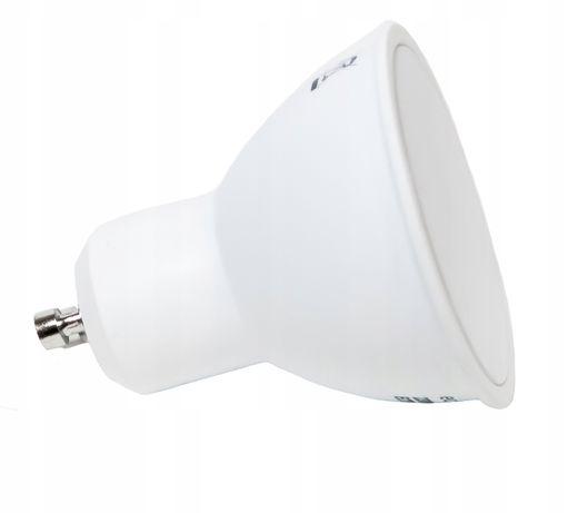 Żarówka LED GU10 SMD2835 8W biała ciepła KG013