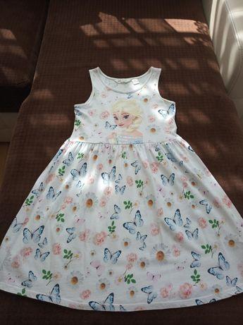 Sukienka H&M na licencji Disneya - Frozen 134/140