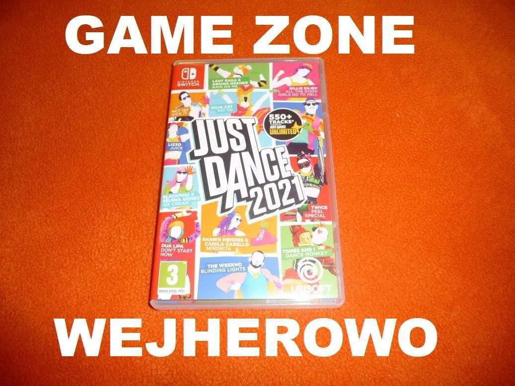 Just Dance 2021 Nintendo Switch = Wejherowo / Wymiana