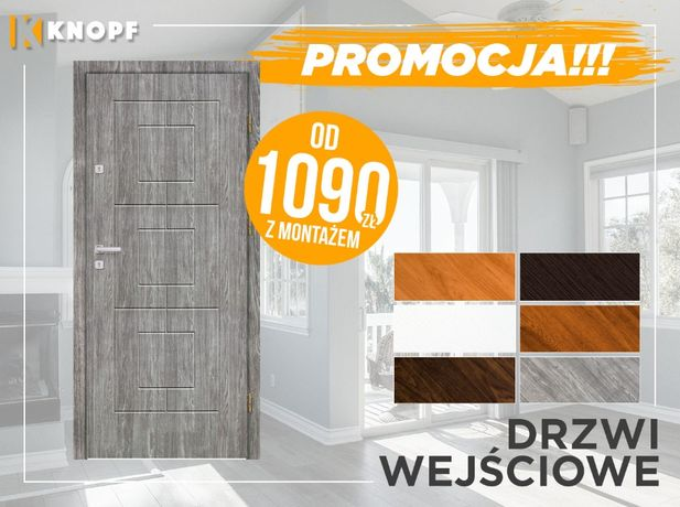Polskie drzwi wejściowe w cenie specjalnej!