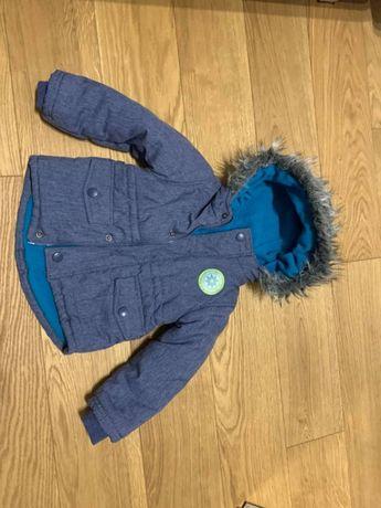 kurtka zimowa dziecieca, Pepco, rozmiar 86