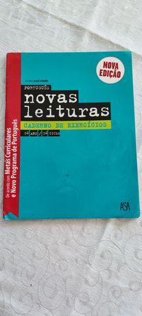 Caderno atividades Novas Leituras, Português, 7 ano