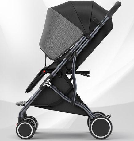 Дитяча коляска-трансформер прогулянкова з сонцезахисним екраном