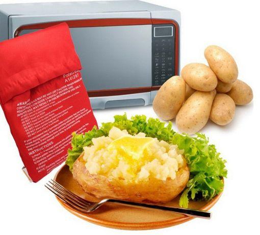 Мешочек для быстрого запекания картошки в микроволновке Potato Express