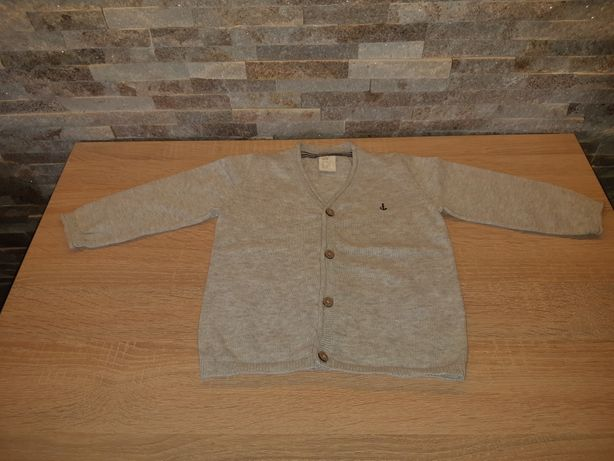 Sweter rozpinany kardigan h&m 80