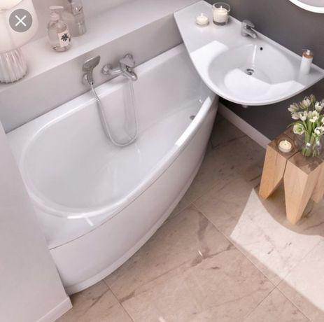 Акция! Новая ванная Ravak Avocado 150L с панелью.