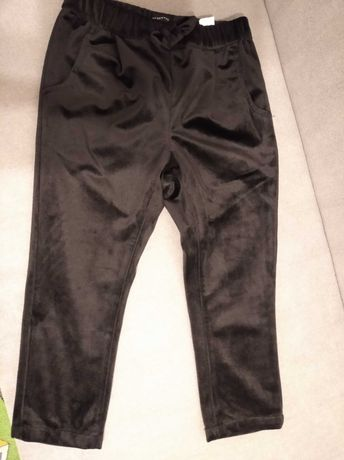 Spodnie z weluro czarne r 104 Reserved