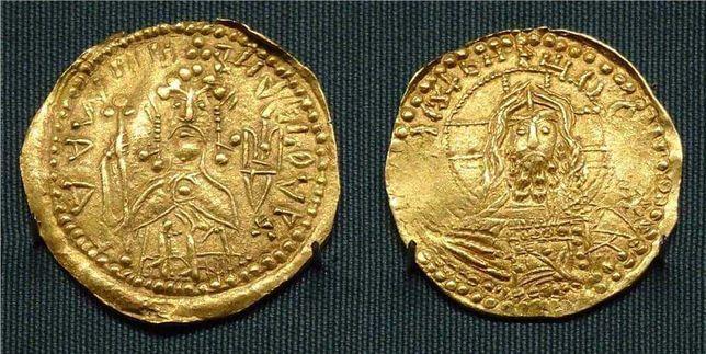Spiżarnia starożytna złota moneta zlatnik Rusi 100% oryginalny
