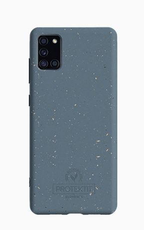 Conjunto: Capa + Vidro Protector de Ecrã - Samsung Galaxy A41