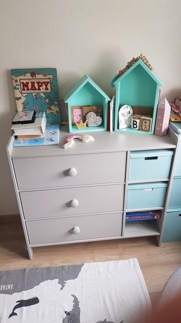 Komplet Ikea Gonatt łóżeczko i komoda dla dziecka