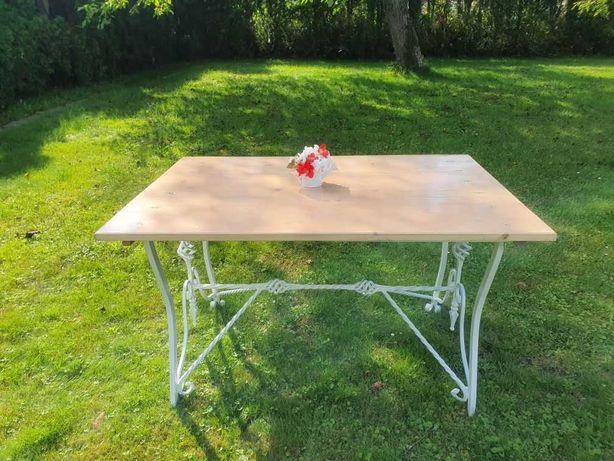 Stolik stół kawowy biały