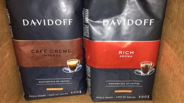 Кофе в зернах Davidoff 500гр (4 вида)