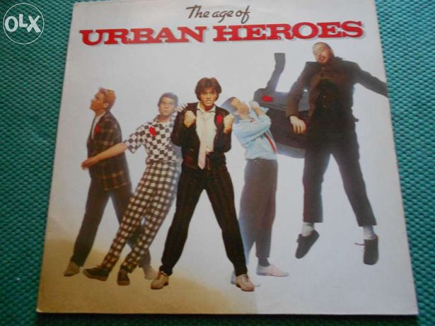 Urban heroes - the age of urban heroes - Vinil